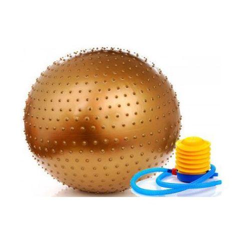 Meteor Sensoryczna piłka gimnastyczna 65cm z pompką