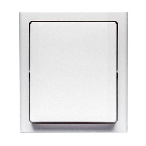 Włącznik pojedynczy bravo ip54 biały marki Polmark