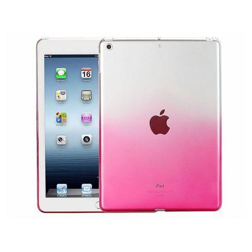 Etui Alogy ombre case Apple iPad 9.7 2017 / 2018 silikonowe różowe - Różowy, kolor różowy