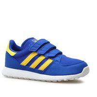 Buty dziecięce cg6804 forest grove cf c granatowe marki Adidas