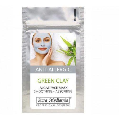 Green Clay - maska przeciwtrądzikowa na twarz z zieloną glinką i algami 25 g, 28253