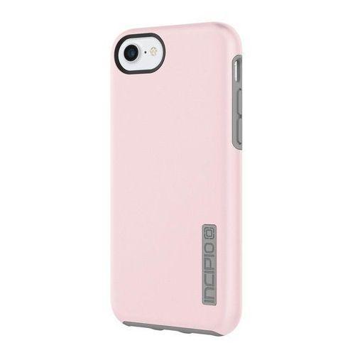 Incipio DualPro - Etui iPhone 7 / iPhone 6s / iPhone 6 (Iridescent Rose Quartz/Gray), kolor szary