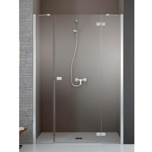 fuenta new dwjs 130 prawe wys. 200 cm szkło przejrzyste 384032-01-01r/384090-01-01 marki Radaway