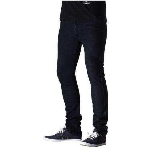spodnie REELL - Skin Power Stretch Rinse Blue (RINSE BLUE) rozmiar: 30/32