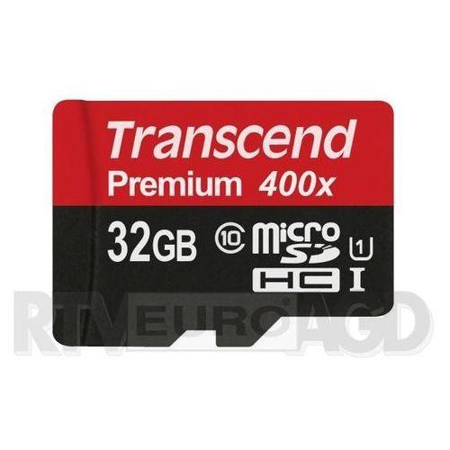 Transcend Premium microSDHC Class 10 32GB - produkt w magazynie - szybka wysyłka!