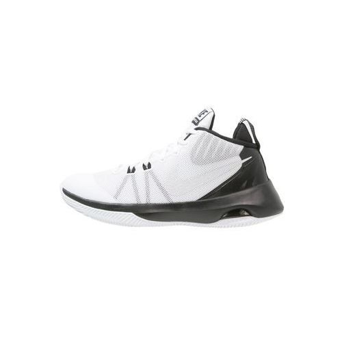 Nike Performance AIR VERSITILE Obuwie do koszykówki white/metallic silver/black/pure platinum z kategorii koszykówka