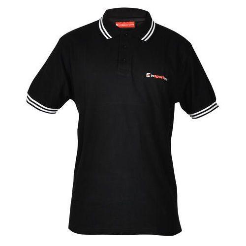 Koszulka polo inSPORTline, Czarny, L (8595153691073)