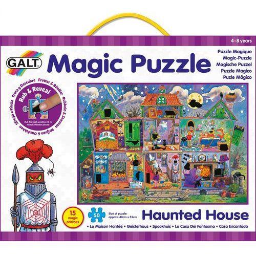 magiczne puzzle - straszny dom 2 marki Galt