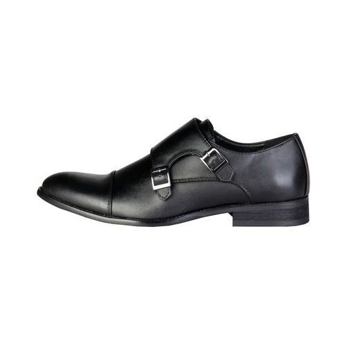 Płaskie buty męskie PIERRE CARDIN - ZD3702-79, ZD3702_NOIR-43