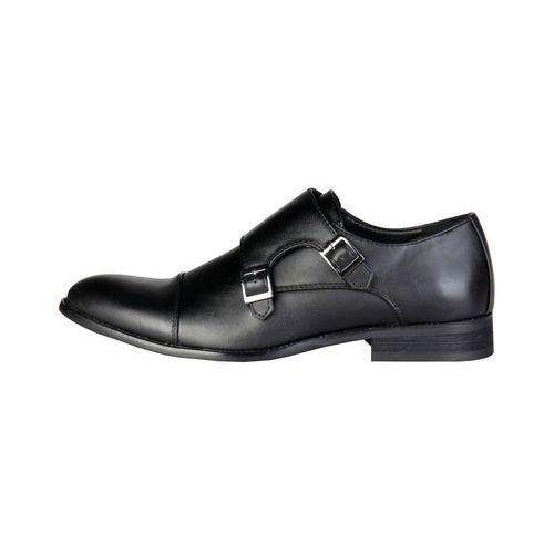 Płaskie buty męskie PIERRE CARDIN - ZD3702-79, ZD3702_NOIR-44