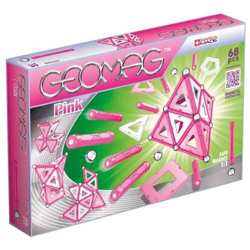 Geomag Klocki magnetyczne Panels Pink 68