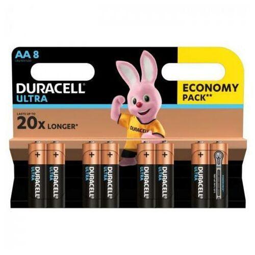 Duracell Baterie ultra power aa 8szt. (5000394063051)