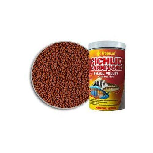 TROPICAL Cichlid Carnivore Small Pellet pokarm dla pielęgnic