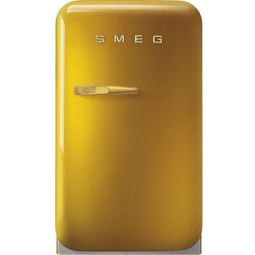 Smeg Chłodziarka minibar fab5rdgo3 złoty (uchwyt w kolorze złotym) (zawiasy prawostronne)   seria 50's style (8017709274481)