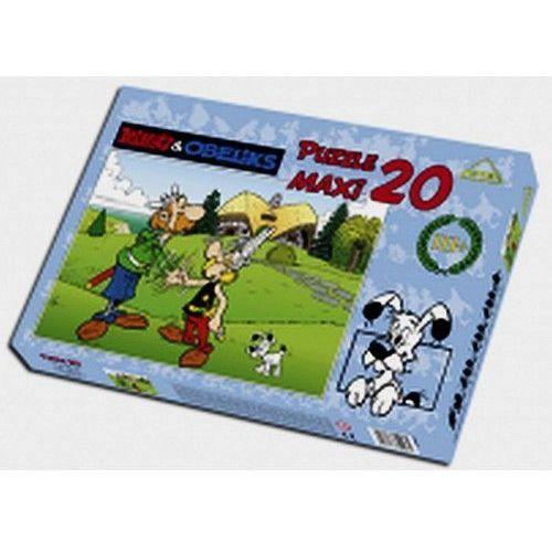 Puzzle maxi 20 asteriksobeliks w brytanii marki Axel