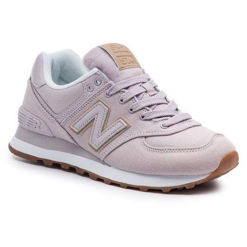 Sneakersy NEW BALANCE - WL574CVA Różowy, kolor różowy