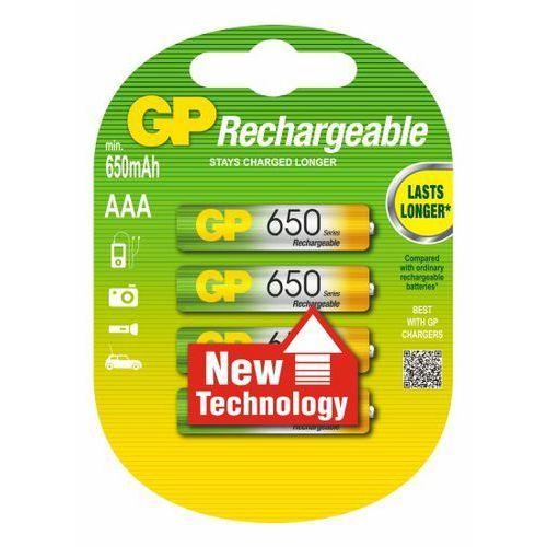4 x akumulatorki GP R03 AAA Ni-MH 650 z kategorii Akumulatorki