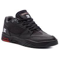 Sneakersy DC - Maswell ADYS100473 Black/White/True Red (Bwu), kolor czarny