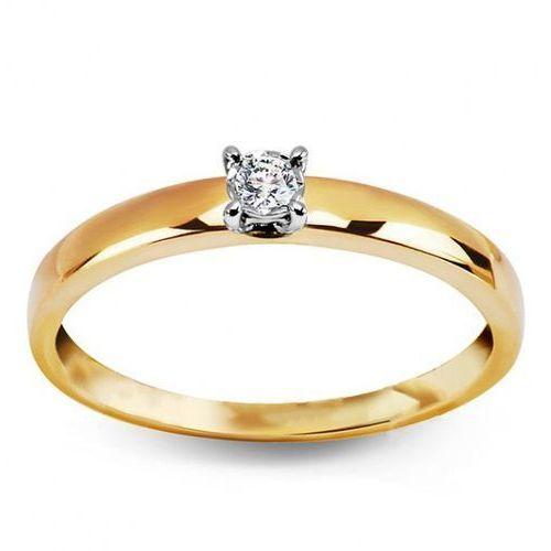 Staviori Złoty pierścionek pxd4744 - diament