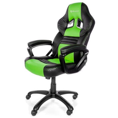 Arozzi Fotel monza czarno-zielony + darmowy transport!