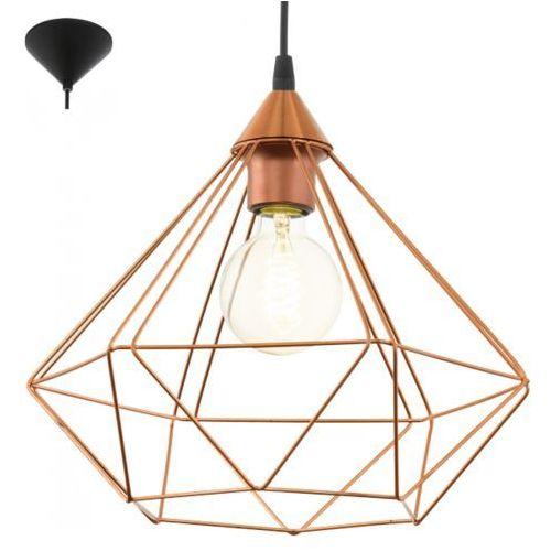 Eglo Lampa wisząca 1x60w tarbes miedziana - duża, 94194