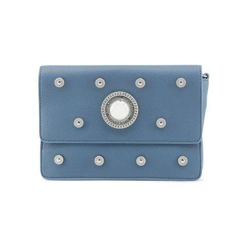 Torebka listonoszka damska VERSACE JEANS - E1VQBBR6_75429-48, kolor niebieski