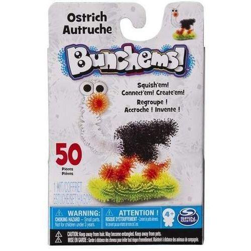 Spin Master Bunchems Kolorowe Rzepy - kumple struś - produkt w magazynie - szybka wysyłka!