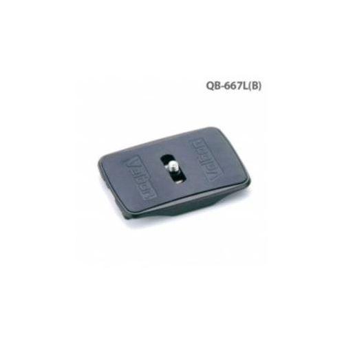 Akcesoria do aparatów fotograficznych  qb-667l(b) pro qra-667, qhd-72q czarne marki Velbon