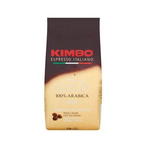KIMBO 250g Aroma Gold 100% Arabica Włoska kawa ziarnista import
