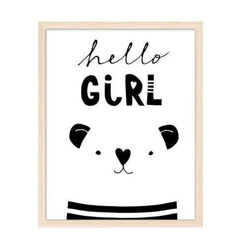 Kanwa HELLO GIRL 40 x 50 cm