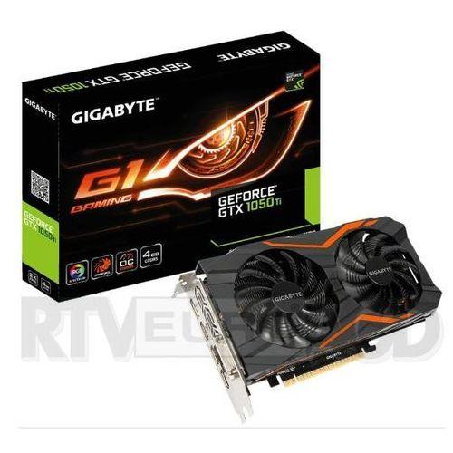 Gigabyte GeForce CUDA GTX 1050 G1 GAMING 4GB GDDR5 128BIT DVI/HDMI DARMOWA DOSTAWA DO 400 SALONÓW !! - sprawdź w wybranym sklepie