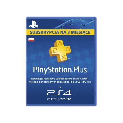 Karta pre-paid SONY PlayStation Plus 3 Miesiące