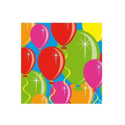 """Folat Serwetki """"balony"""", mix, , 25 cm, 20 szt (8714572045926)"""