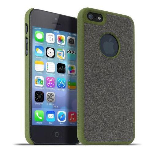 Meliconi Etui Stone iPhone 5/5s Military Green/Grey (8006023204625) Darmowy odbiór w 20 miastach!, kup u jednego z partnerów