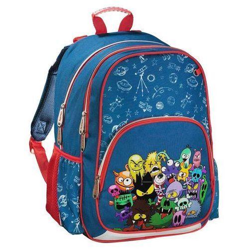 plecak szkolny dla dzieci / monsters - monsters marki Hama