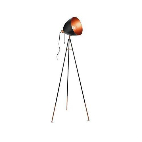 Eglo 49386 - lampa podłogowa chester 1xe27/60w/230v (9002759493868)