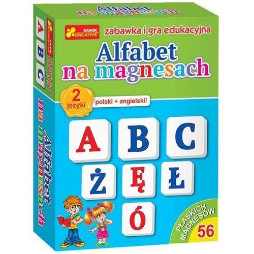 Alfabet na magnesach polski + angielski