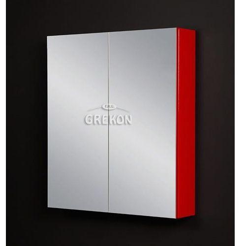Szafka wisząca z lustrem 70x80 seria fokus cz marki Gante