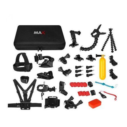 MAX MAC2001B uniwersalny zestaw akcesoriów 43w1 dla kamer sportowych (8594173121157)