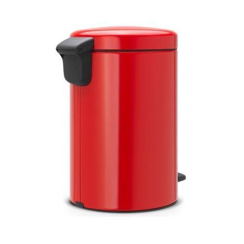 Kosz na śmieci 5 litrów NEW ICON Brabantia stal szlachetna czerwona