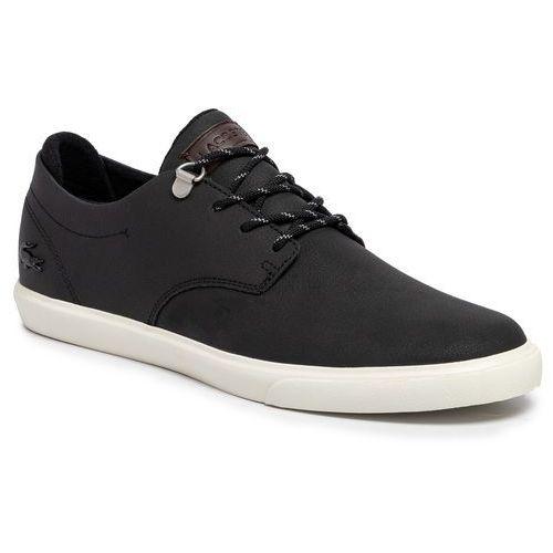 Sneakersy - esparre 319 3 cma 7-38cma0040454 blk/off wht marki Lacoste