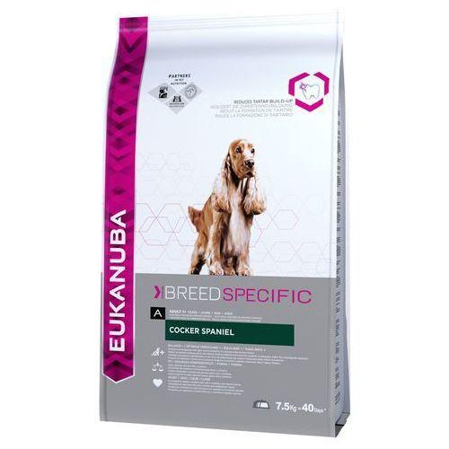 Eukanuba breed specific cocker spaniel adult 2x7,5kg (8710255120294)