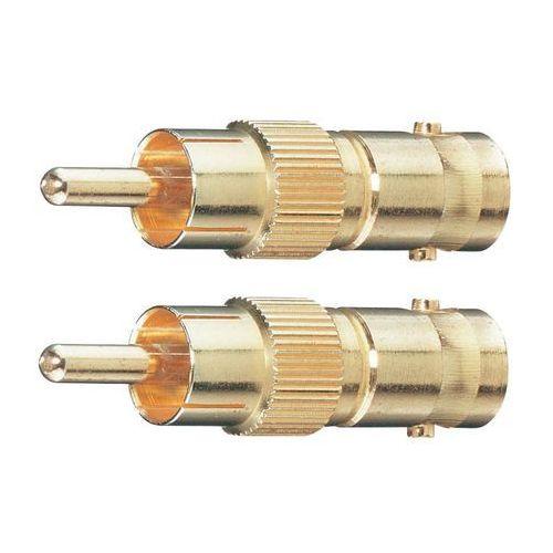 Przejściówka, adapter BNC, Cinch Oehlbach 8606, [1x Złącze męskie cinch - 1x Złącze żeńskie BNC], 2 szt. - produkt z kategorii- Akcesoria do TV