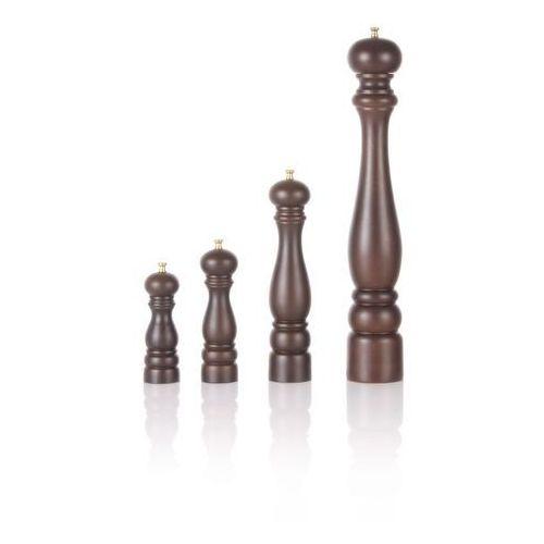 Młynek do pieprzu drewniany brązowy marki Lidrewa