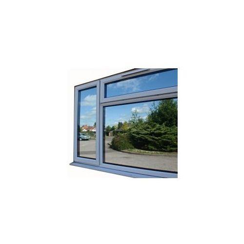 Folia okienna refleksyjna LUSTRO WENECKIE M8 (silver/black ) szer.1,52 m