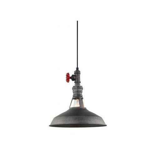 Lampa wisząca garibaldo mdm-2781/1 gr+bk marki Italux