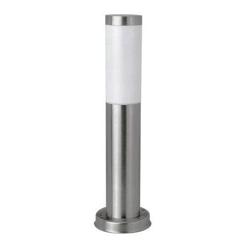 Polux Lampa ogrodowa stojąca los ip44 srebrna e27