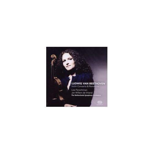 Challenge classics Ludwig van beethoven: violin concerto & romances [hybrid sacd]