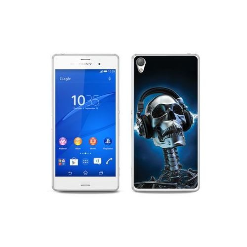 etuo Fantastic Case - Sony Xperia Z3 - etui na telefon Fantastic Case - szkielet ze słuchawkami