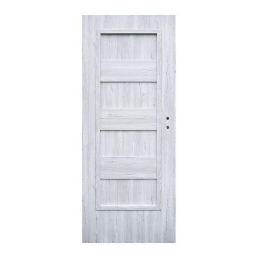 Drzwi pełne Winfloor Kastel 60 lewe silver